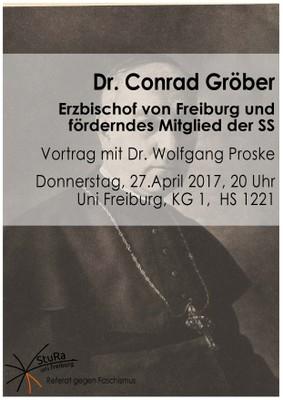 Conrad Gröber Plakat Webversion