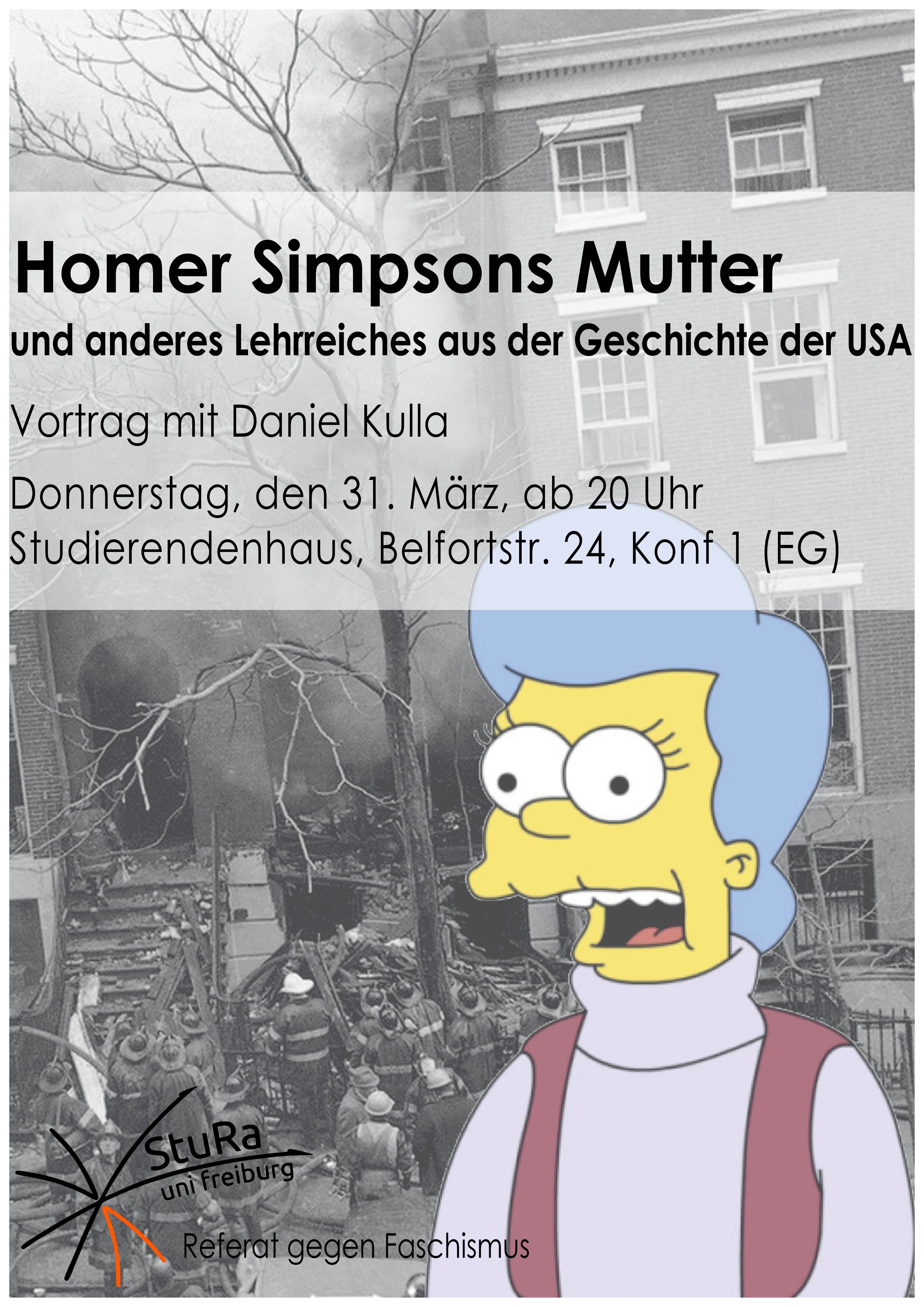 Homer Simpsons Mutter