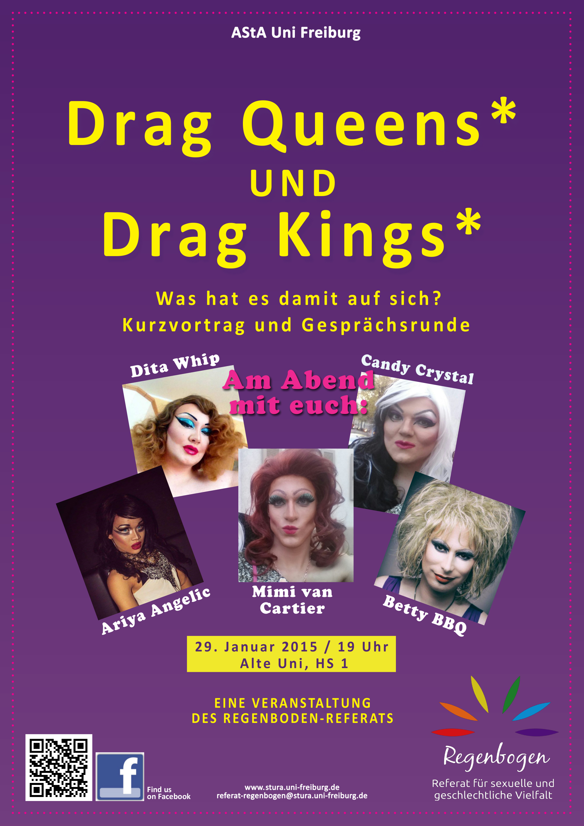 Plakat Drag WiSe 14/15