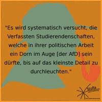 PM: AfD-Landtagsanfrage will Verfasste Studierendenschaften durchleuchten