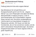 StuRa begrüßt vegane Mensa Repartstraße