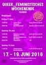 queer_feministisches Wochenende vom 17.-19. Juni