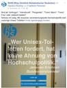 Studierendenrat distanziert sich von trans*- und inter*phobem Facebookpost